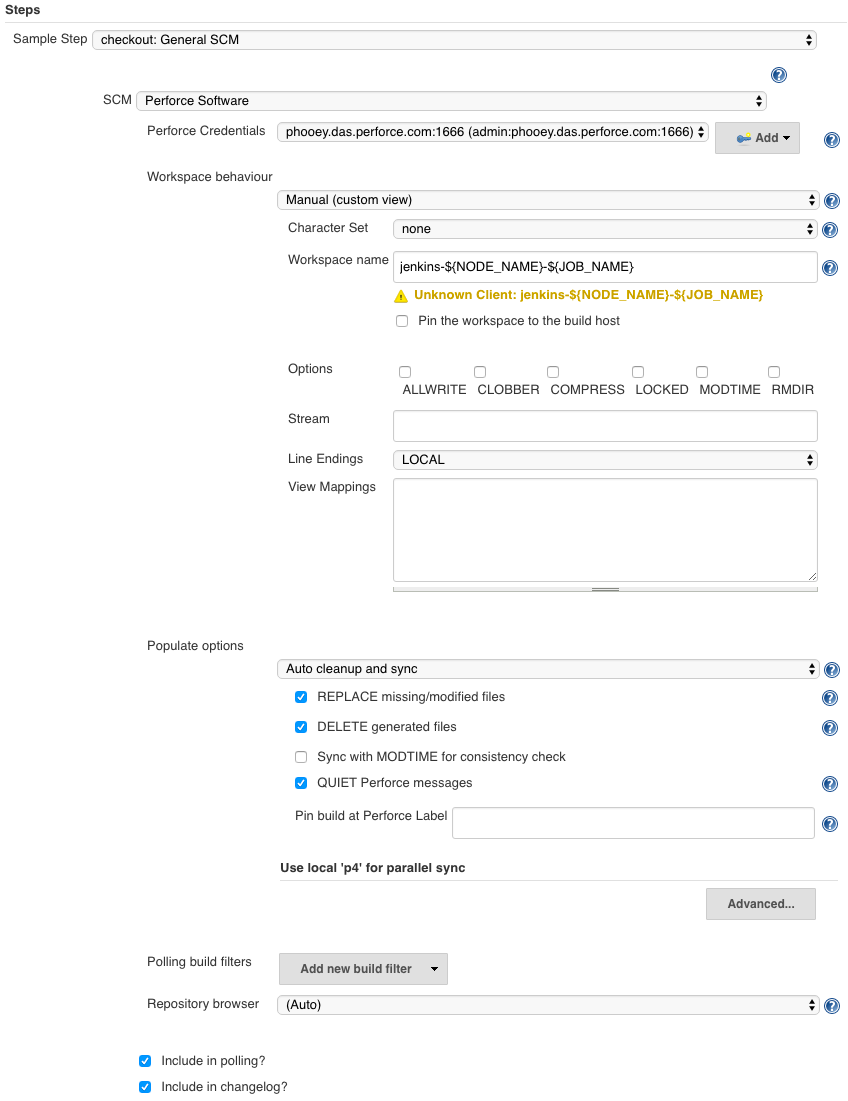 Swarm - guest/perforce_software/p4jenkins/main/WORKFLOW md
